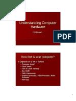 Undrestanding Computer Hardware