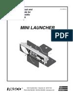 Mini Launcher Manual ME 6825A
