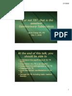 Urinary TB د.محمد علوان
