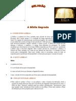 Apostila de Religião - A Bíblia Sagrada - EJA