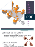 Inter Personal Conflicts