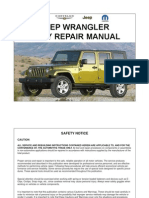 Jeep Wrangler JK (07-10) Body Repair Manual