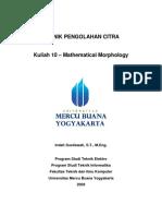 Kuliah 10 Mathematical Morphology
