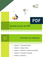 Sensibilização em HST - modulo 5