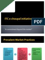 ITC e Choupal Initiative 01 Nov 0800