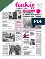 A Szabadság 2005/15. szám