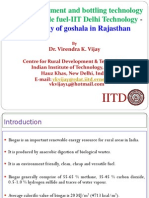 PPT on Biogas Enrichment and Bottling Technology_IITD_India