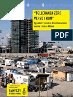 Tolleranza Zero Verso i Rom Definitivo