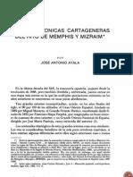 Menfis en Murcia y Cartagena