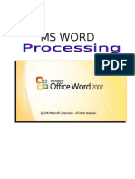 MS Word Fundamentals