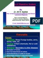 Diseases of Pahyrinx and Esophagus in Farm Animals by Ali Sadiek