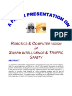 Robotics and Computer Vision in Swarm Intelligence and Traffic Safety