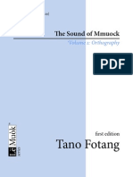 The Sound of Mmuock