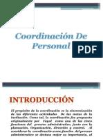 Coordinacion de Personal
