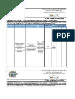 Plan Trimestral Consultoria Juridica. Enero-marzo 2011.