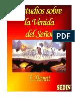 Estudios sobre la Venida del Señor - E. DENNETT sedin