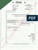 Answer of AEG LIVE LLC to Unverified Complaint