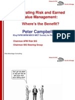 Risk and EVM Implementation