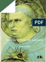 CHESTERTON, G.K. Batismo de Aristóles In. Santo Tomás de Aquino biografia. São Paulo; LTR, 2003. p. 65-87 (1)