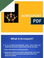 Acrosport Notes 4th ESO English