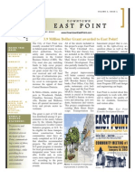 Downtown East Point Newsletter, January 2012