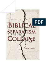 Biblical Separatism and Its Collapse 02