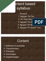 Content Based Syllabus 2 2