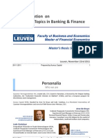 KUL MaNaMa_Current Topics in Banking and Finance_Private Banking_nov 2011_Publication Selection