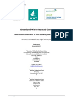 GWFG Small Sites Project - Final Report 2011
