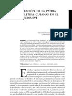 Configuración de la Patria y de las letras cubanas en el siglo XIX