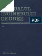 Manualul Inginerului Geodez Vol 1