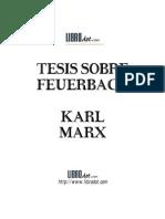 Tésis sobre Feuerbach