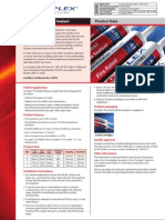 Pyroplex Fire Rated Silicone Sealant Datasheet En