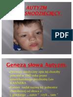 Autyzm wczesnodziecięcy