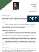 Glenn Webster Manifesto OM