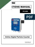 PC3400 Operations Manual