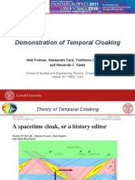 Temporal Cloaking