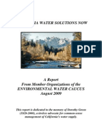 California Water Solutions Now