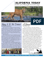 March 2007 California Today, PLanning and Conservation League Newsletter