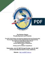 USIR 2007 Entry Form