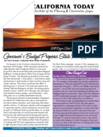 March 2008 California Today, PLanning and Conservation League Newsletter