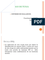 Analisis y Descripcion SRQ Y AUDIT