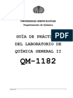 Guía de Laboratorio QM1182 - 2010