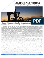 March 2011 California Today, PLanning and Conservation League Newsletter