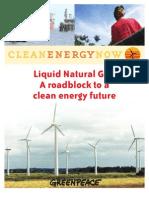 Liquid Natural Gas a Roadbloc