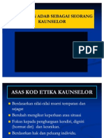 ETIKA KAUNSELOR