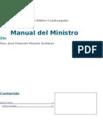 Manual Del Ministro Hyj