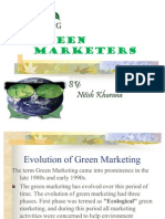 Presentation Green Mktg