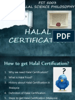 HALAL CERTIFICATION IN MALAYSIA