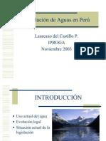 ion Agua en El Peru Power Point